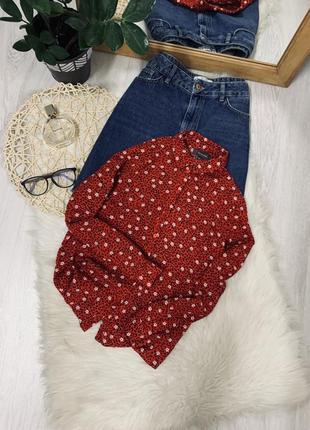 Блуза в квітковий принт від primark🌿