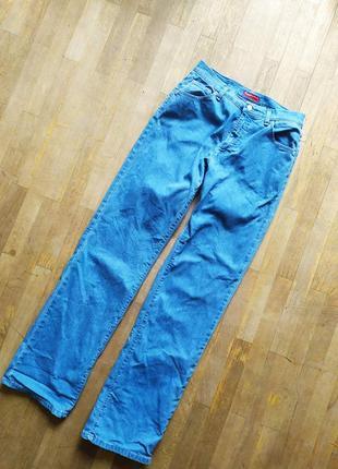 Винтажные  итальянские прямые джинсы трубы винтаж ретро