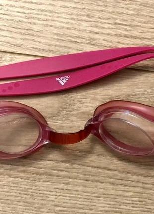 Adidas очки для бассейна детские