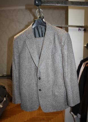 Роскошный твидовый мужской пиджак