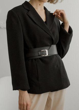 Классический пиджак двубортный
