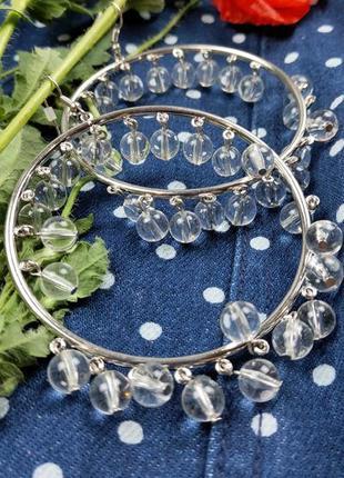 Новые❣️серьги кольца испанского бренда bershka