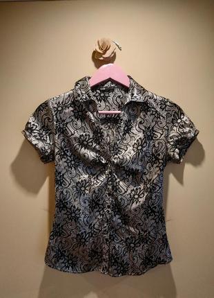 Блуза блузка шелковая нарядная