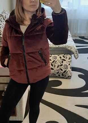 Демисещрнная курточка