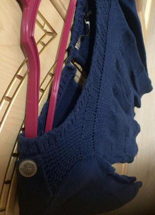 Синяя кофта stradivarius свитер