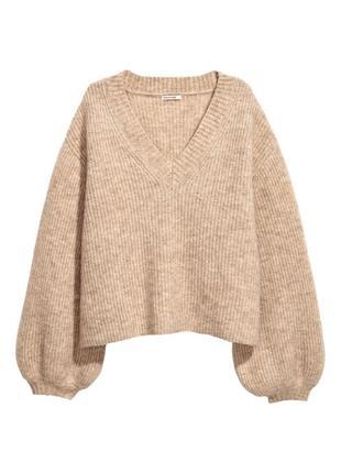 Светр h&m з колекції mohair/wool