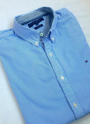 Класична сорочка полоску tommy hilfiger