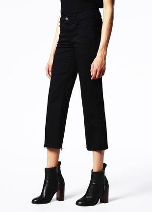 Крутейшие трендовые темные джинсы укороченные джинсы diesel {оригинал}