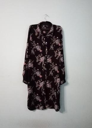 Обалденное платье-рубашка.