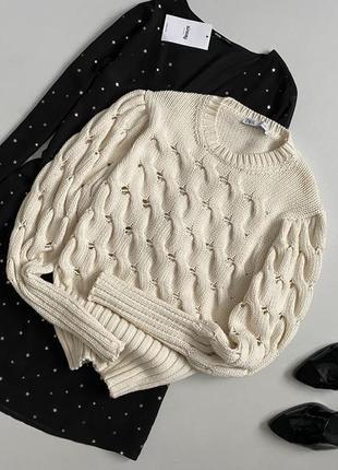 Шикарный свитер из свежих коллекций zara