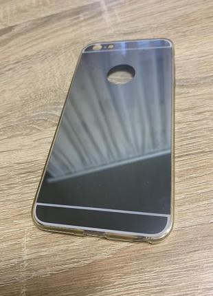 Чехол зеркало на айфон 6 плюс/6 s plus