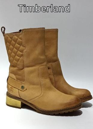 Кожаные ботинки полусапожки timberland оригинал