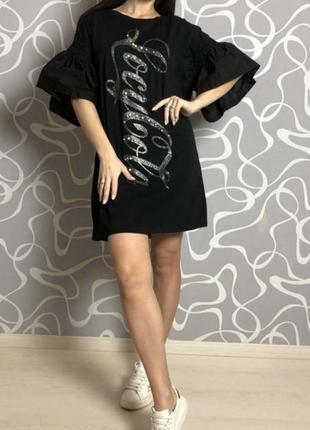_new_oversize!!! стильное платье coca cola 💋!!!