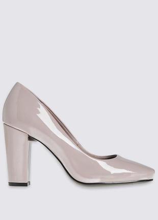 Стильные туфли m&s collection р. 7.5- 27см