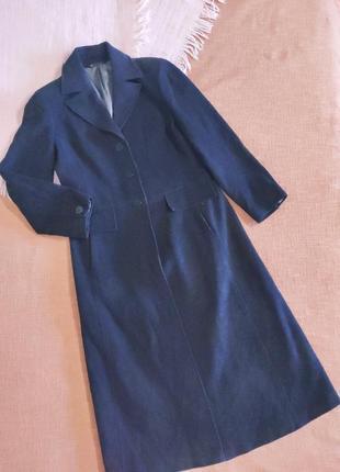Пальто шерстяное демисезонное длинное макси
