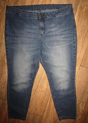 Укороченные джинсы р-р 18 бренд c&a