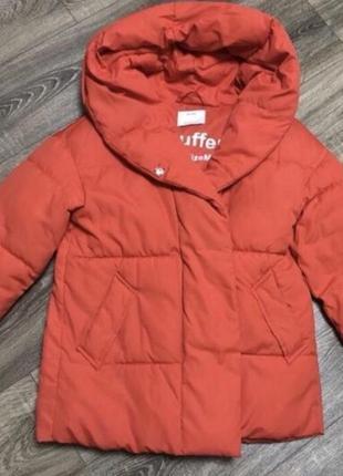 Куртка дутая пуффер зефир пуховик пальто