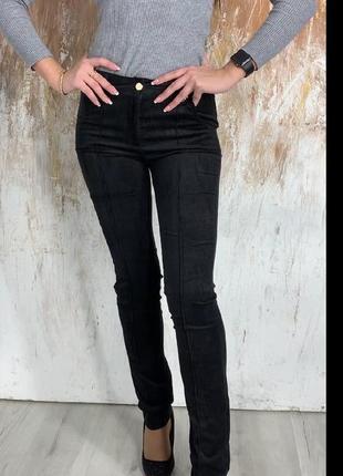 Модные женские вельветовые брюки р.25-30.