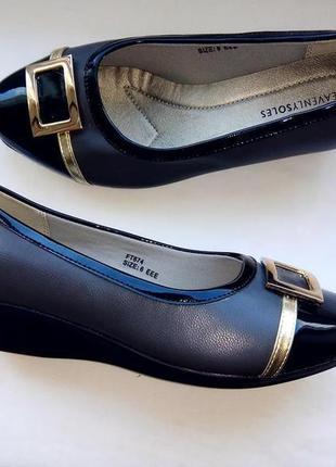 Кожаные туфли heavenly soles