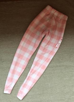 Пижамные флисовые штаны от st.bernard