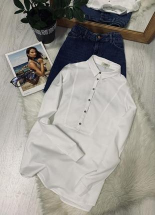 Біла котонова блуза від papaya🌿