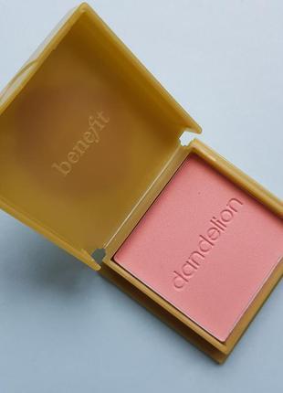 Румяна  dandelion от benefit cosmetics  , оригинал