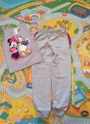 Спортивные штаны и майка hm в подарок