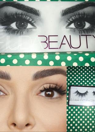 Huda beauty classic false lashes in scarlett #8 накладные ресницы