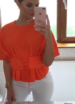 Фирменная блузка h&m, размер 12