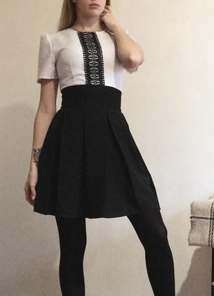 Платье с вышиванкой