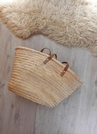 Прекрасна соломяна сумка