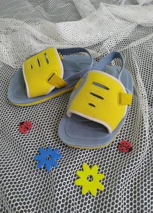 Аквашузы шлепанцы босоножки для пляжа бассейна, tribord, р.24-25, на стопу+- 15,5 см