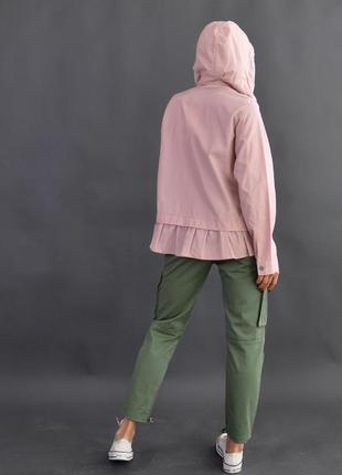 Легкая куртка дождевик zara