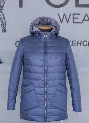 Красивая демисезонная куртка больших размеров