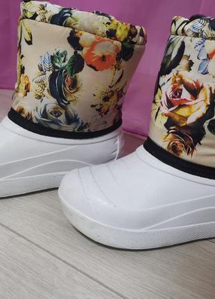 Сапоги сапочки ботинки резиновые