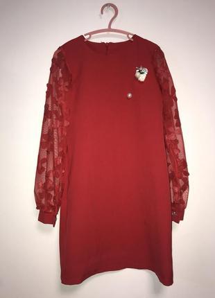 Нарядное платье рост 134