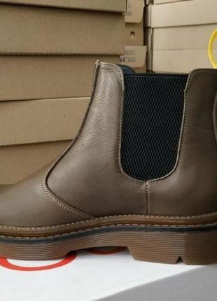 Ботинки,коричневые , размер 40