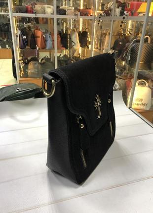 Замшева сумочка2 фото