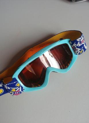Маска лыжная uvex детская очки