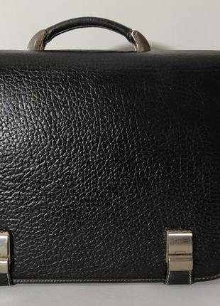Фирменная сумка из натуральной кожи