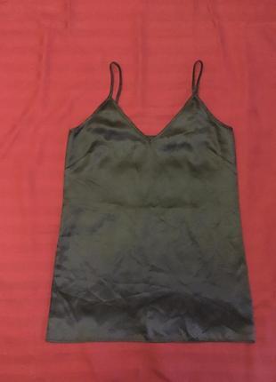 Чёрное платье комбинация pinko