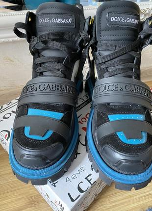 Очень крутые ботинки dolce&gabbana
