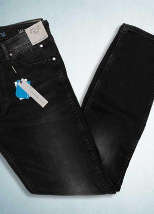 Мужские джинсы calvin klein sculpted metal black
