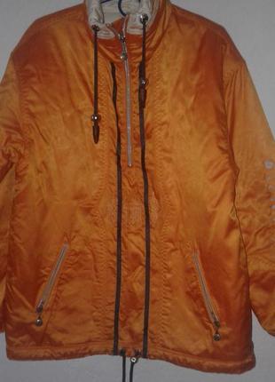 Куртка спортивная  лыжная бомпер оверсайз больше в профиле