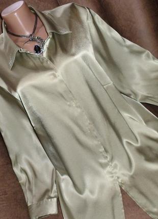 Jh блуза рр 3xl полиэстер светло-оливковая