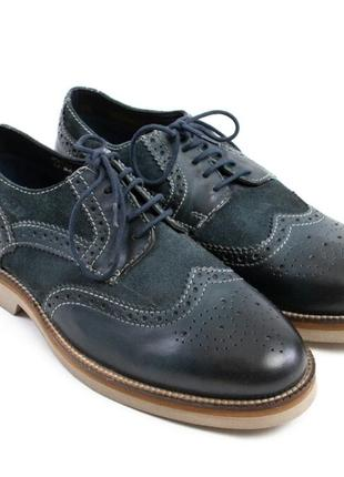 Мужские туфли броги сafe мoda, 30.5 см