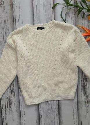 Велюровый свитер шенилл f&f p m-l