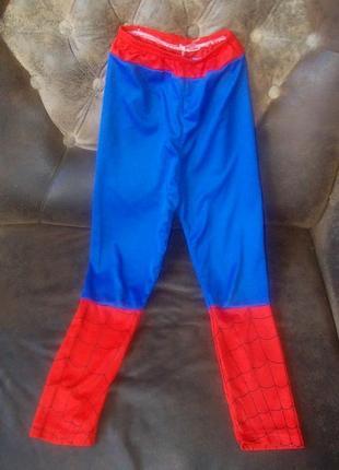Штаники для костюма человека-паука в подарок
