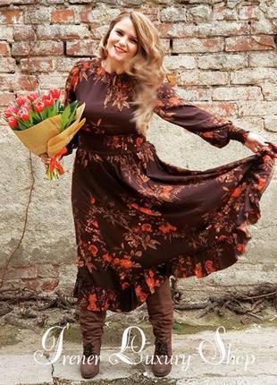 Изящное и женственное платье h&m plus size 18-20-22