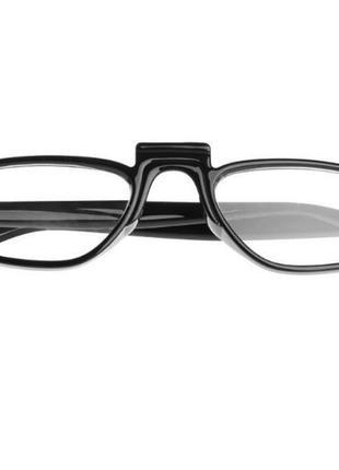 Распродажа! трендовые очки для имиджа имиджевые нулевки узкие линзы черная оправа унисекс